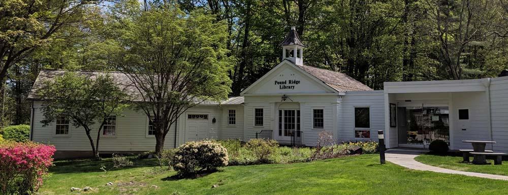 Pound Ridge Library Exterior