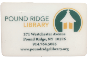 Pound Ridge Library Card