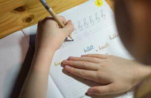 Child Writing Script