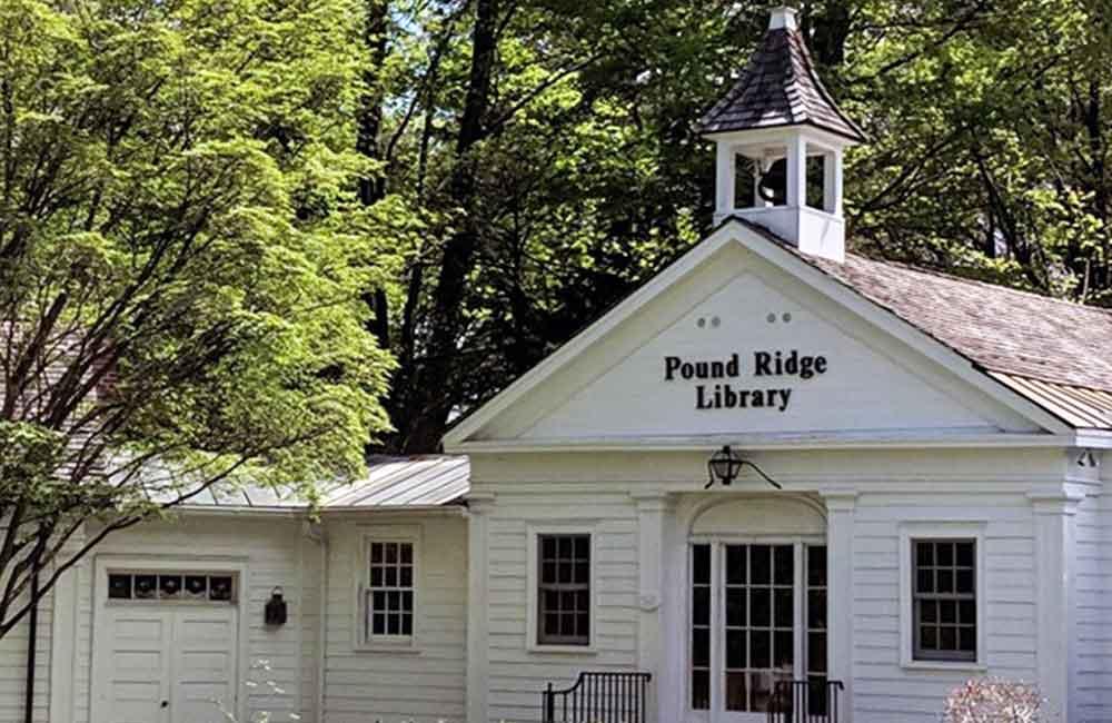 Exterior - Pound Ridge Library