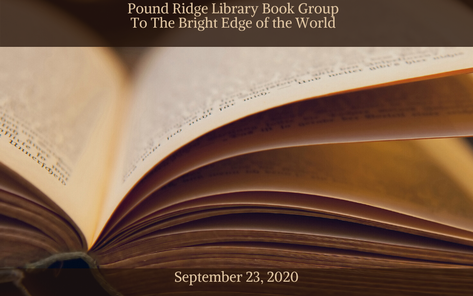 slide-Pound Ridge Library Book Group September 23, 2020