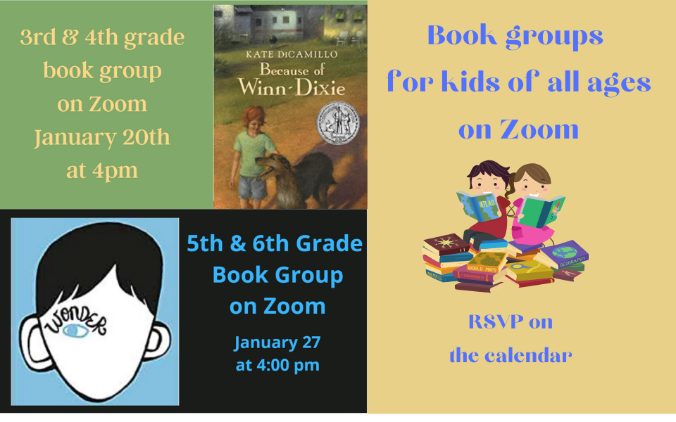 Book Groups for kids sililoquy