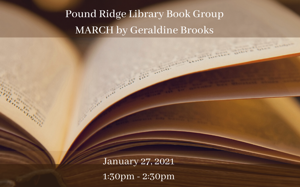 Pound Ridge Library Book Group January 27, 2021 sol.