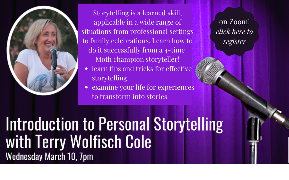 Storytelling with Terry Wolfish Cole