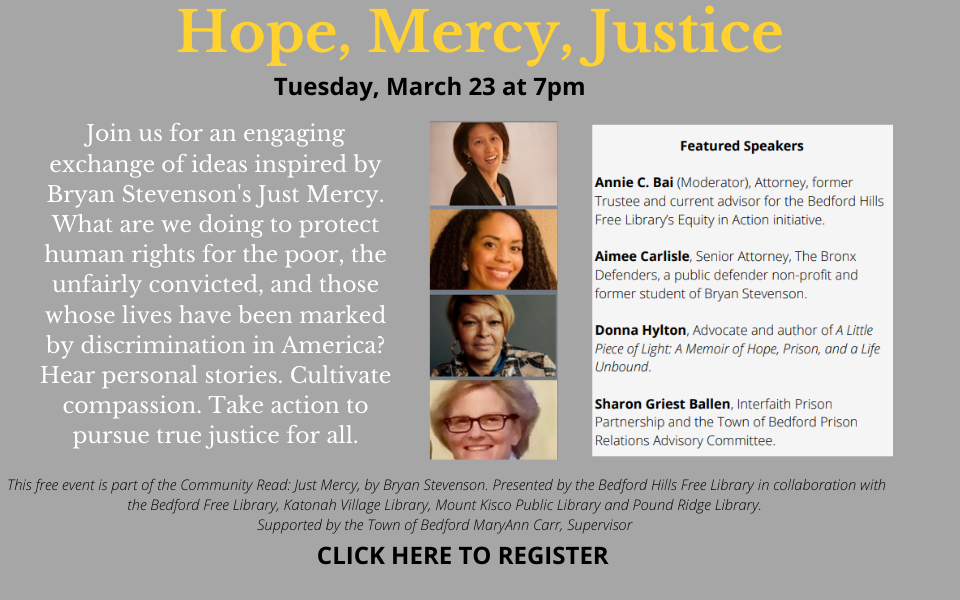 Hope, Mercy, Justice