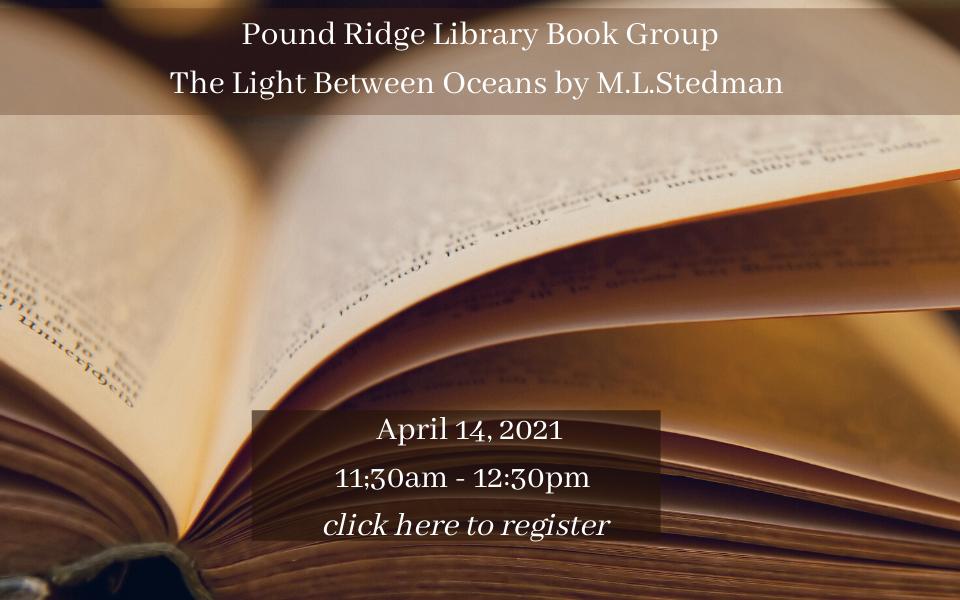 Pound Ridge Library Book Group April 14, 2021 sol.