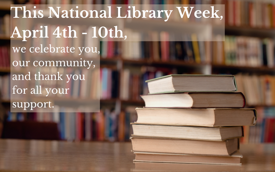 This National Library Week for website