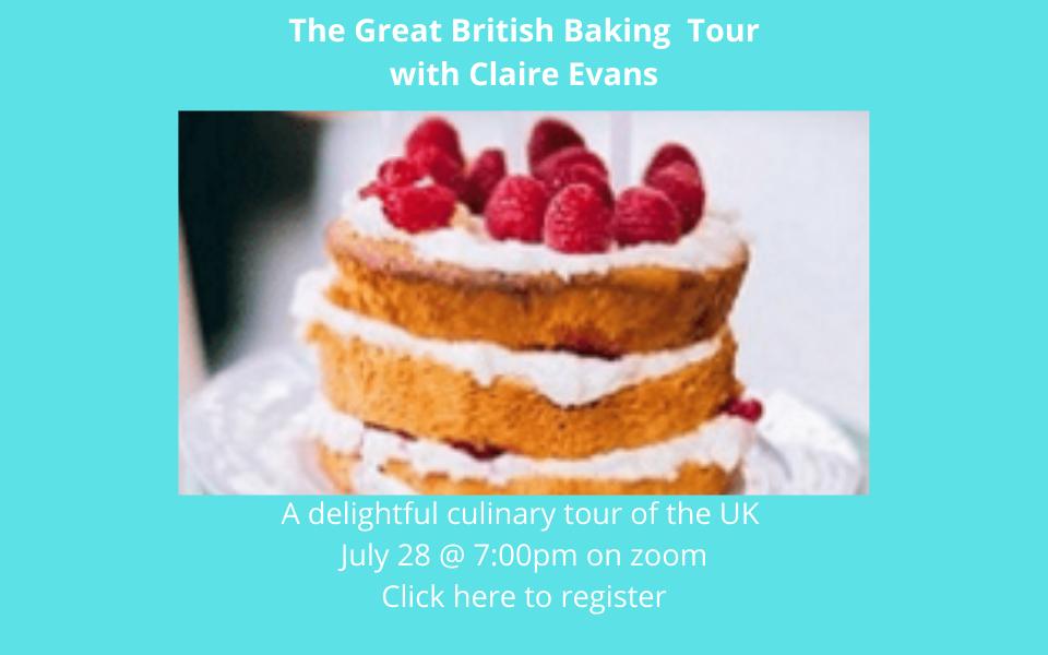 Great British Baking Tour Sol