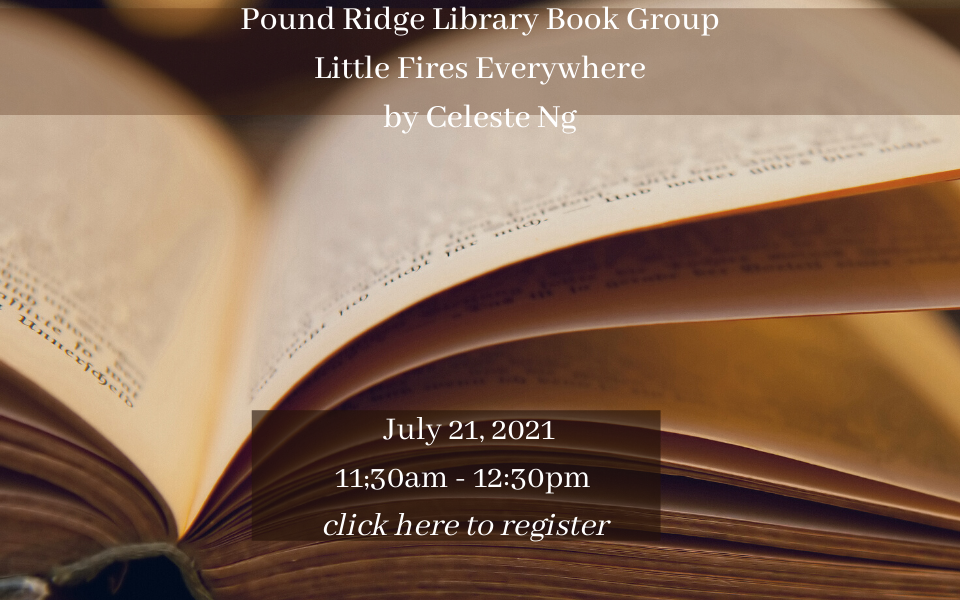 Pound Ridge Library Book Group June 16, 2021 sol.