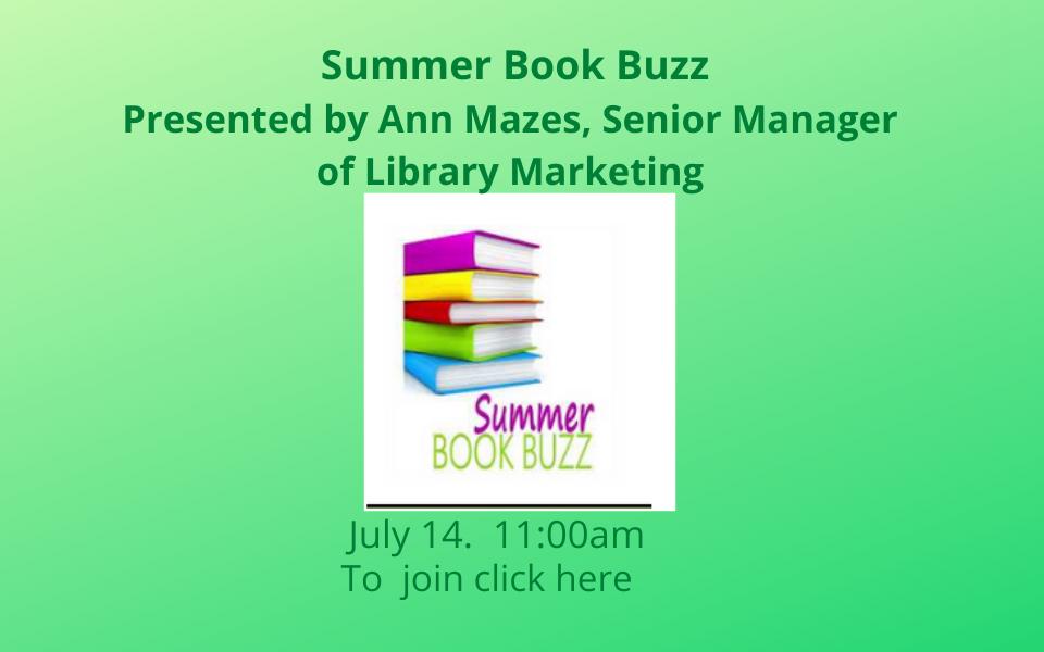 Summer Book Buzz Sol