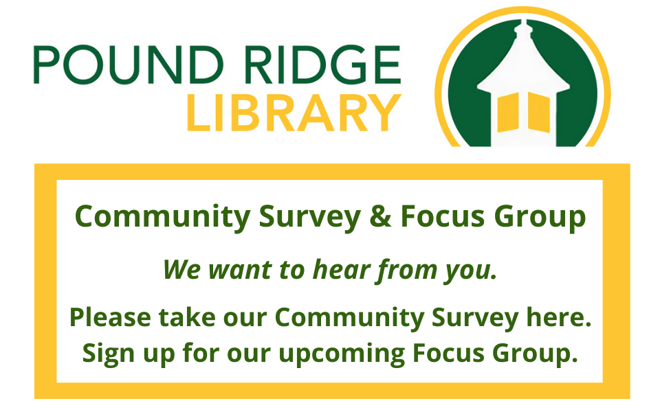 Community Survey and Focus Group for website