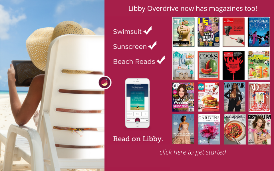 Libby Overdrive now has magazines too!