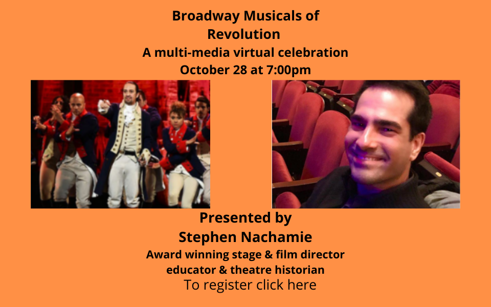 Copy of Broadway Musicals of Revolution Sol